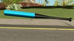 Baseball Bat Blue для GTA San Andreas