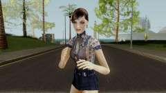 Jemma Country Denim Dress для GTA San Andreas