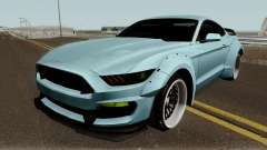 Ford Mustang Shelby GT350R Liberty Walk 2016 для GTA San Andreas