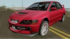 Mitsubishi Lancer Evolution IX Stock HQ для GTA San Andreas