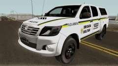 Toyota Hilux do Comando Ambiental для GTA San Andreas