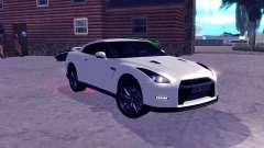 Nissan GT-R R35 Original для GTA San Andreas
