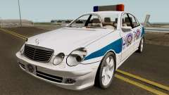Mercedes Benz E500 Turkish Police Car San Fierro для GTA San Andreas