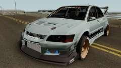 Mitsubishi Lancer Evolution IX Voltex Edition для GTA San Andreas
