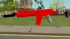 M4 De Trolencio911 Roja для GTA San Andreas