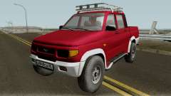УАЗ 2362 Пикап доработка v2.0 для GTA San Andreas