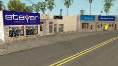 New Sports Stores для GTA San Andreas