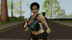 Lara Well Armed (Big Stuff Version) для GTA San Andreas