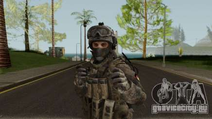 German Special Forces Skin для GTA San Andreas