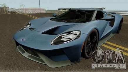 Ford GT 2017 HQ для GTA San Andreas