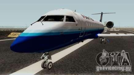 Bombardier CRJ200 для GTA San Andreas