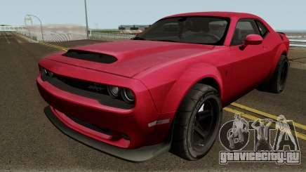 Dodge Challenger SRT Demon 2018 для GTA San Andreas