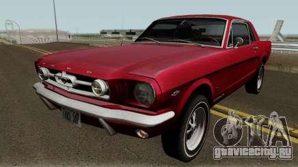 Ford Mustang GT289 Counting Cars v1.0 1965 для GTA San Andreas