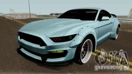 Ford Mustang Shelby GT350R Liberty Walk 2016 для GTA San Andreas