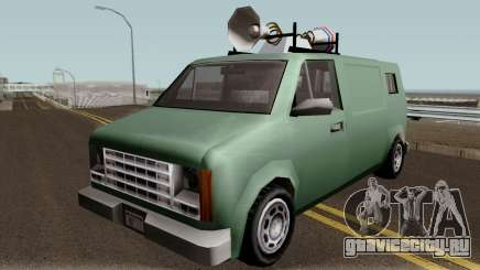 New News Van IVF для GTA San Andreas