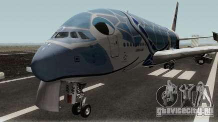 All Nippon Airways (Flying Honu) Airbus A380 для GTA San Andreas