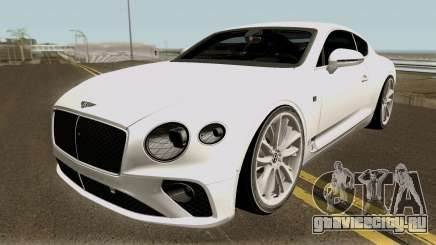 Bentley Continental GT First Edition 2018 для GTA San Andreas