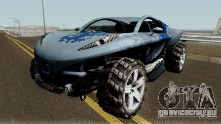 Peugeot Hoggar Concept для GTA San Andreas
