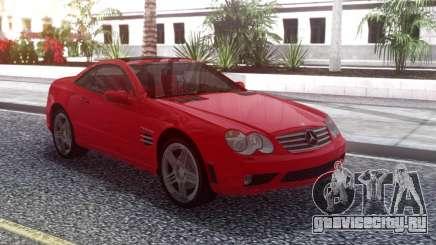 Mercedes-Benz SL65 AMG Red для GTA San Andreas
