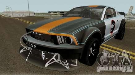 Ford Mustang Hot Wheels 2005 для GTA San Andreas