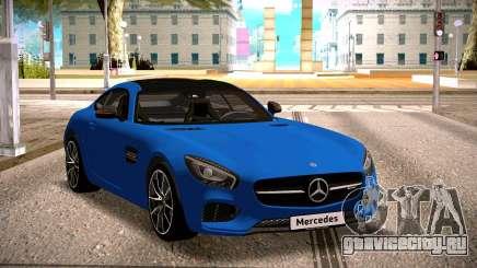 Mercedes-Benz GTS Blue для GTA San Andreas