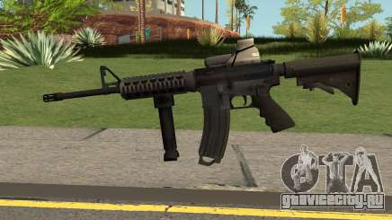 M4 with Eotech для GTA San Andreas