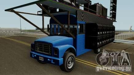Vapid Festival Bus GTA V IVF для GTA San Andreas