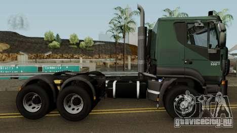 Iveco Trakker Cab Low 6x4 для GTA San Andreas вид сзади