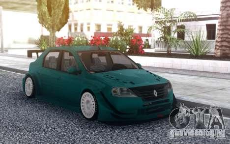 Renault Logan WTCC для GTA San Andreas