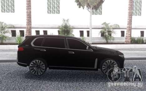 BMW X7 2017 для GTA San Andreas