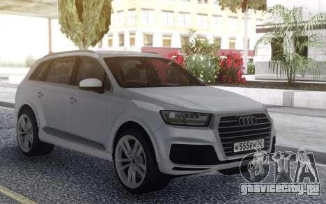 Audi Q7 Offroad для GTA San Andreas