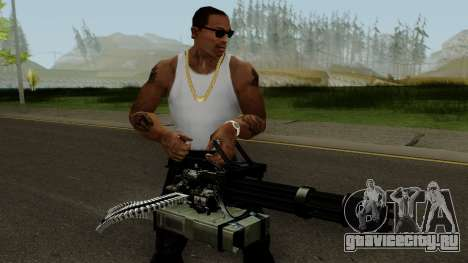 Minigun HQ (With HD Original Icon) для GTA San Andreas