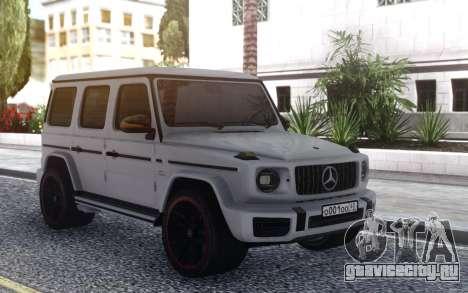 Mercedes-Benz G63 AMG Editon1 W464 для GTA San Andreas