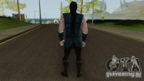 Klassic Sub-Zero MKXM для GTA San Andreas третий скриншот
