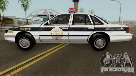 Ford Sheriff Arklay Country Mountains для GTA San Andreas вид слева