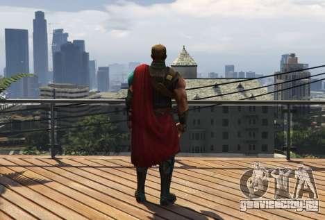 Thor Ragnarok 1.2 для GTA 5 второй скриншот