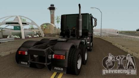 Iveco Trakker Cab Low 6x4 для GTA San Andreas вид справа