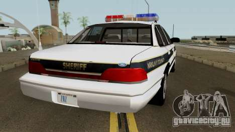 Ford Sheriff Arklay Country Mountains для GTA San Andreas вид справа