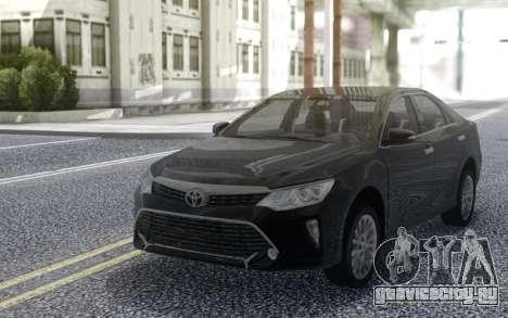 Toyota Camry V55 Prestige 2017 для GTA San Andreas
