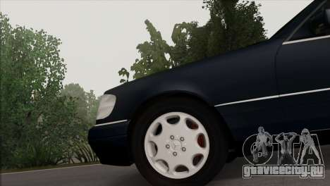 Mercedes-Benz S600 W140 Final Version для GTA San Andreas