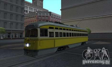 SEPTA PCC II для GTA San Andreas
