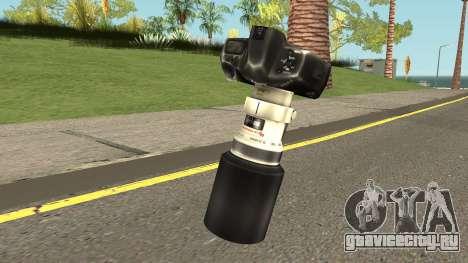 Camera HQ (With HD Original Icon) для GTA San Andreas