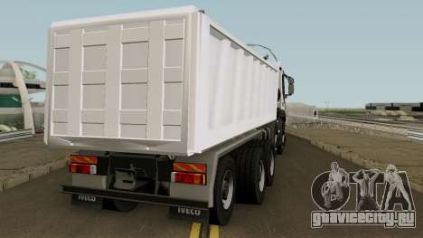 Iveco Trakker Dumper 10x4 для GTA San Andreas