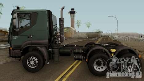 Iveco Trakker Cab Low 6x4 для GTA San Andreas вид слева