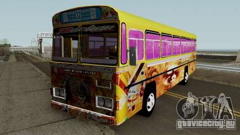 Hashan Golden Bird Bus для GTA San Andreas