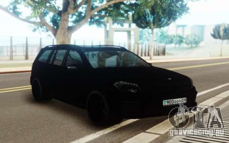 Mercedes-Benz GL63 Pure Black для GTA San Andreas