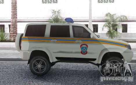 УАЗ Патриот МЧС для GTA San Andreas