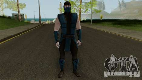 Klassic Sub-Zero MKXM для GTA San Andreas