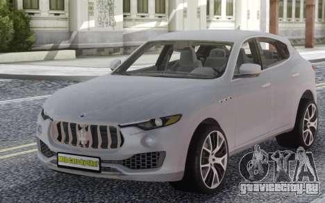 Maserati Levante White для GTA San Andreas