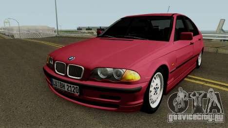 BMW E46 325i для GTA San Andreas